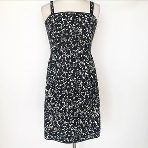 Ann Taylor 100% cotton floral dress